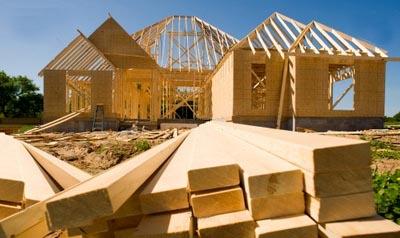 ahşap ev inşaat